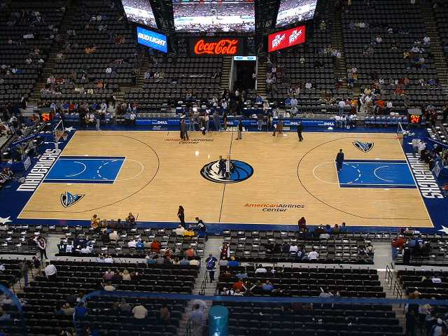 Dallas Mavericks Upper Seats